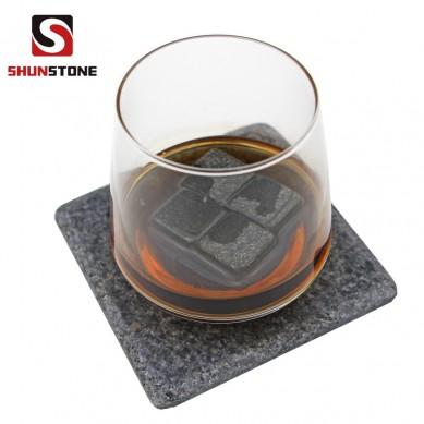 Factory source Steak Plates - SHUNSTONE black granite coaster set – Shunstone