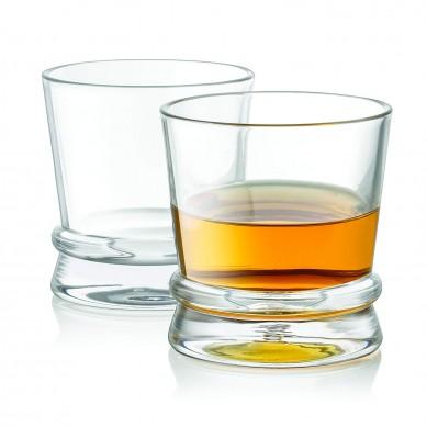 Bourbon Trail Whiskey Glasses, Set of 4