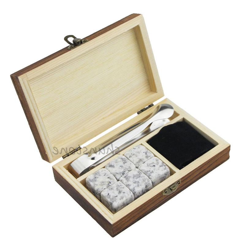 Big discounting Whiskey Gifts - 6 pcs of high quantity and Cheap Gift set whiskey rocks, whiskey stones wholesale whiskey stones – Shunstone