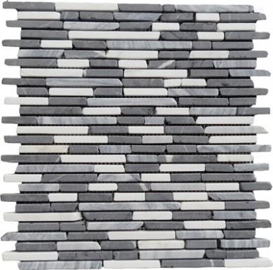 Waterjet marble mosaic Marble Mosaic floor Backsplash Tile Carrara marble mosaic tile