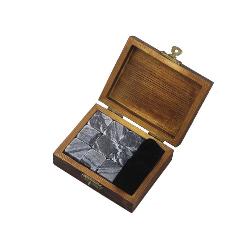 Manufacturer for Glass Decanter - Antiquity Wood Grain 9 pcs of Whisky Stones Souvenir Chilling Whiskey Stones Bar Accessories  Whiskey Stones Velvet Bag  – Shunstone
