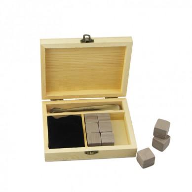 9 pcs High Quality Gift Set Grey Serpegiante Whiskey Rocks, Cheap Reusable Whiskey Stone,Ice Cube Stone stone gift promotion gift part gift