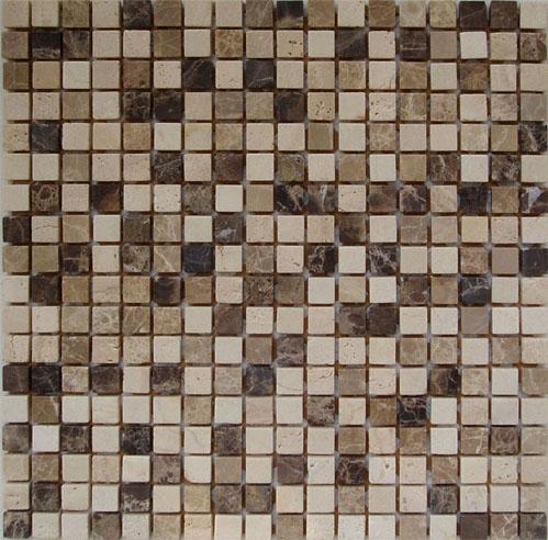 Cheapest PriceStone Coaster - wholesale mix brick marble mosaic art stone ,chinese yellow mosaic tile ,stone travertine mosaic and pattern tile ,  – Shunstone