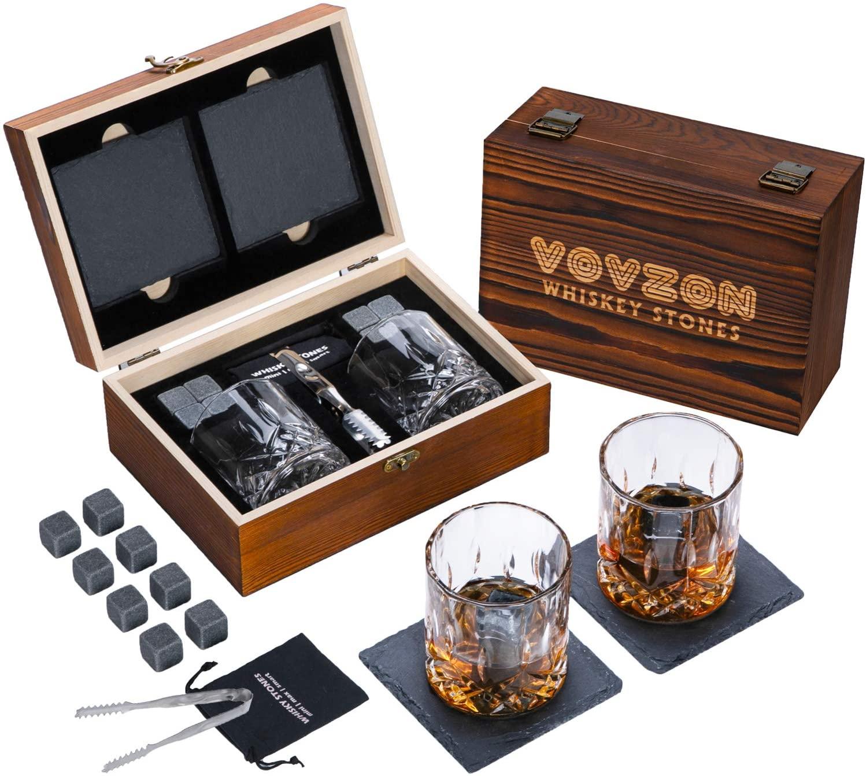 SHUN STONE new design whisky stones gift set
