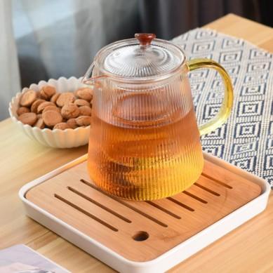 China manufacture Tea Pot for Blooming Tea Flowering Tea Pot with 4 pcs tea Cups gift set