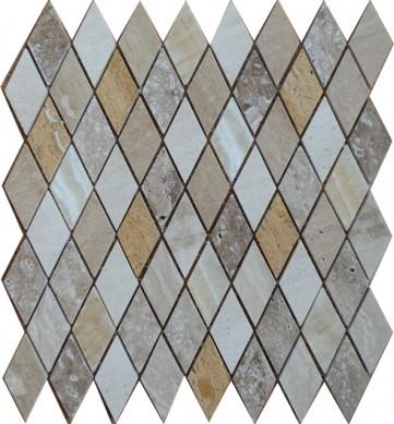 Italian Carrara White Lantern Polished Marble Mosaic Tiles for Kitchen Bathroom Shower Wall Floor Backsplash Tiles