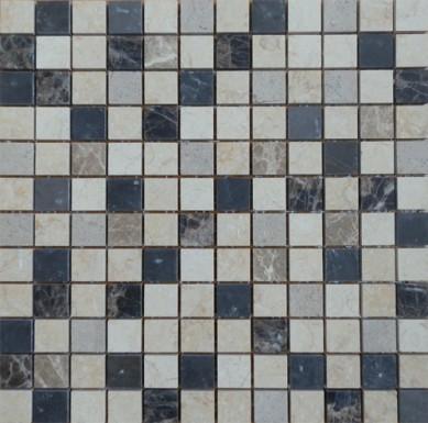 Factory direct sale mix brick marble mosaic art stone ,chinese yellow mosaic tile ,stone travertine mosaic and pattern tile