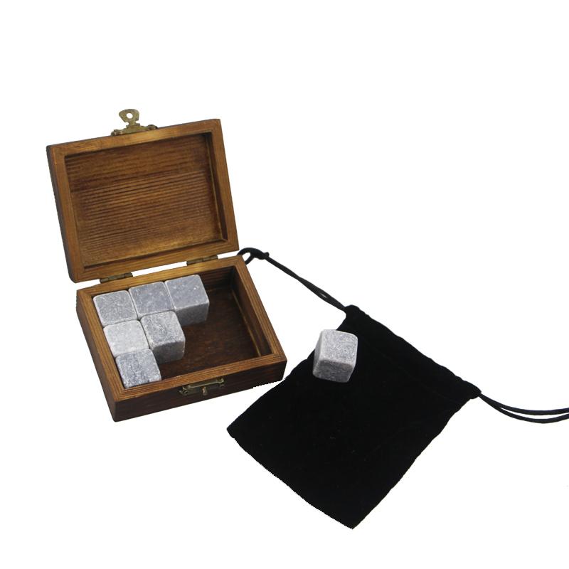 Top Quality Marble Coasters - 2019 Premium Corporate Gift Set soapstone Whiskey Stone Rock Ice Cube Custom Promotional Gift Set High-end Whiskey Stones Ice Gift Set  – Shunstone Featured Image