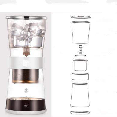 4 Cup Ice Drip Coffee Maker