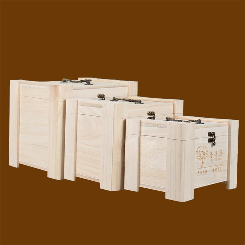 SHUNSTONE Custom wooden wine box pine wood wine gift box Featured Image