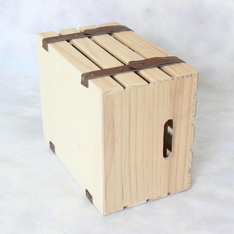Factory wholesale Slate Food Tray - SHUNSTONE Wooden Wine Gift Box For 6 Bottles – Shunstone