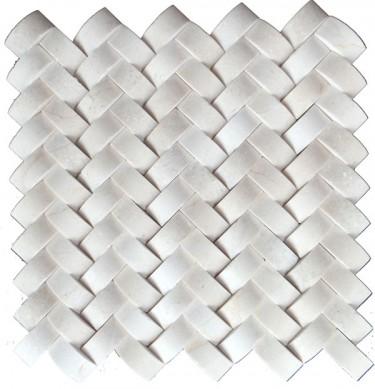 Latest Design Marble Subway Tiles Mosaic/12*12 marble floor mosaic tile/marble mosaic tile on sale