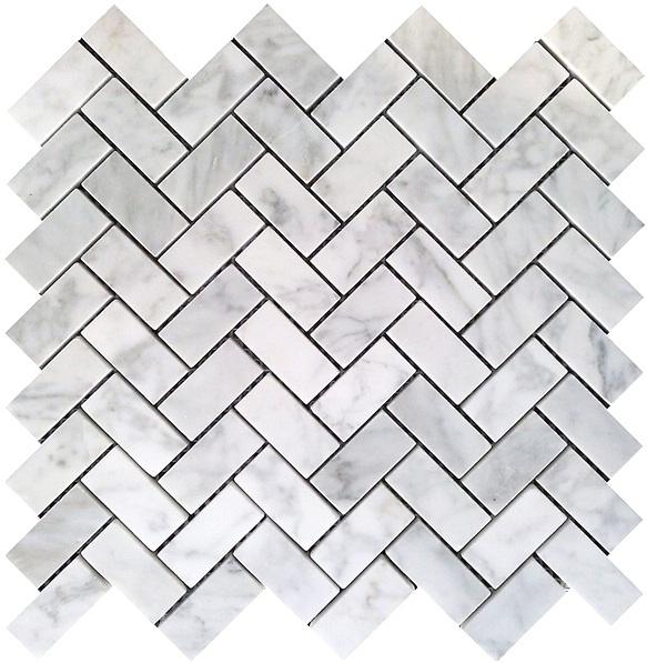 Latest Design Marble Subway Tiles Mosaic/12*12 marble floor mosaic tile/marble mosaic tile on sale Featured Image