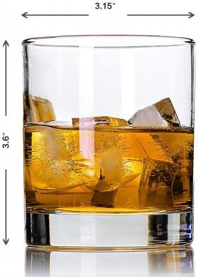 Premium Scotch Glasses,Bourbon Glasses Rock Style Old Fashioned Drinking Glassware 10 oz whiskey galss