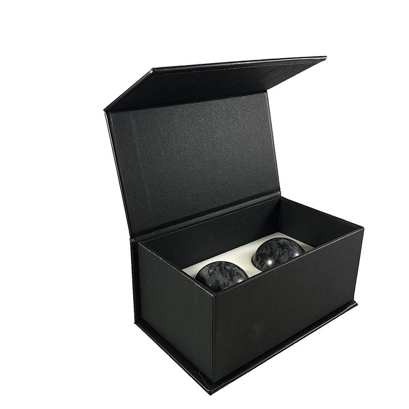 Lowest Price for Whisky Stone Set - Whiskey Stones – Set of 2 Marble Chilling Spheres in Gift Box with Velvet Storage Bag – Shunstone