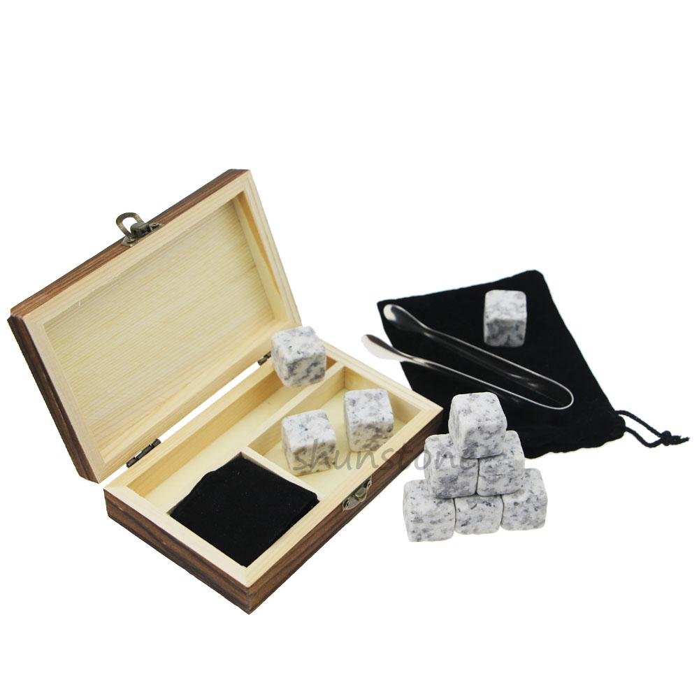 Reasonable price for Whiskey Rocks - 6 pcs of high quantity and Cheap Gift set whiskey rocks, whiskey stones wholesale whiskey stones – Shunstone