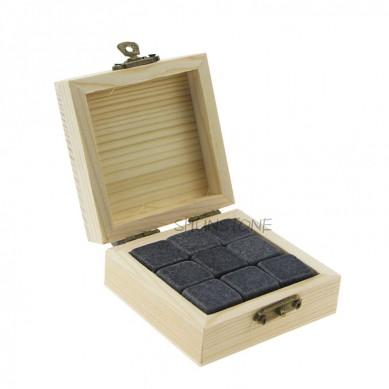 Slàn-reic 9 PCan de Stones Uisge Beatha Reusable Ice Cube Cheap Uisge Beatha Gift kit