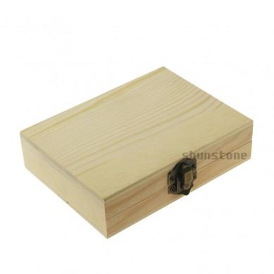 Best Reusable Ice Cubes 9 pcs of Whiskey Stones in Wooden Box Set Bulk Granite Whiskey Rocks Grey Beverage Chilling Stones
