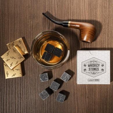 set of 9 pcs original whiskey stone gift set ice cube stone best wine gift for men