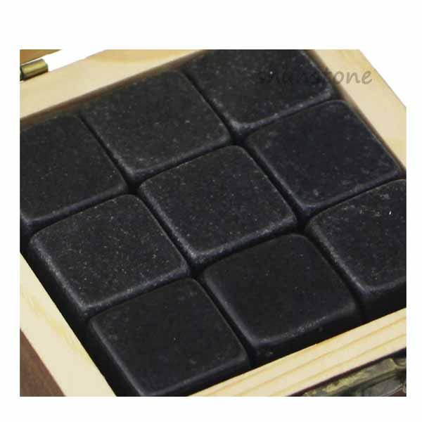 Hot sale Whiskey Stones Disk - 2019 Amazon Best Product Bar Tools Gift Item 9 pcs of New Whiskey Rock Stone Cube Whisky Chilling Ice Cube Ice Stone Creative Gift Set – Shunstone