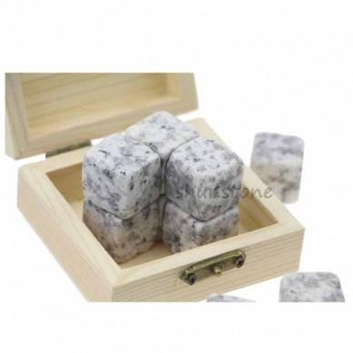 9 pcs of Wholesale whiskey stones granite whiskey stones Customized whiskey stones