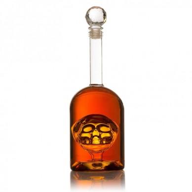 Barrel Whiskey Decanter Set, Full Set with 2 Whiskey Glasses, Custom Decanter Stand, 9 Whiskey Stone Set, Stainless Steel Dispenser and Funnel