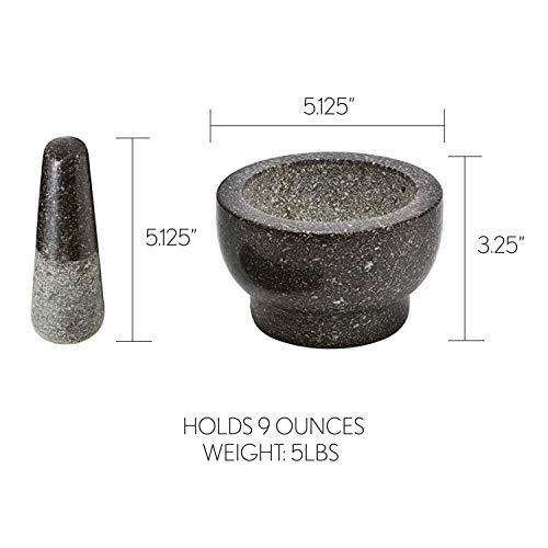 Factory Free sample Steak Stone Set - SHUNSTONE Health Smart Granite Mortar and Pestle – Shunstone