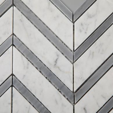 Carrara-White-Mixed-Carrara-Grey-Color-Chevron (4)