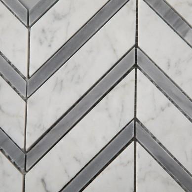 Carrara-White-Mixed-Carrara-Grey-Color-Chevron (5)