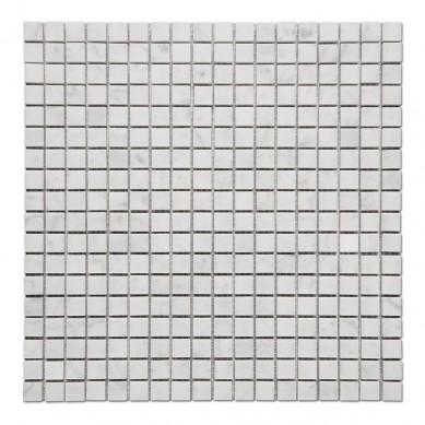 Soulscrafts Mosaic Tiles Mosaic Marble Bianco Carrara Mosaic Tile