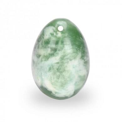 SHUNSTONE Natural Quartz xiuyan jade Stone Yoni Egg For Sale