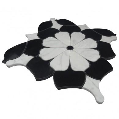 Mosaic Fashion Waterjet Marble Mosaic Tile