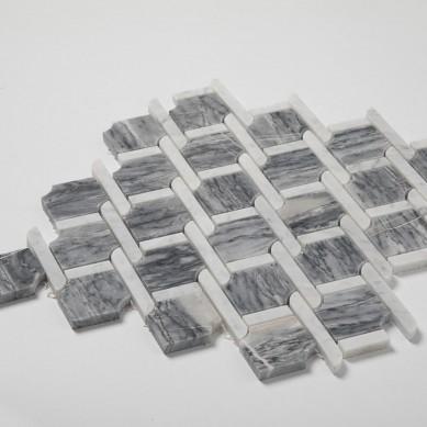 White-Mixed-Bardiglio-Gray-Marble-Mosaic-Tile (2)