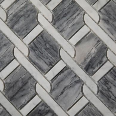 White-Mixed-Bardiglio-Gray-Marble-Mosaic-Tile (3)