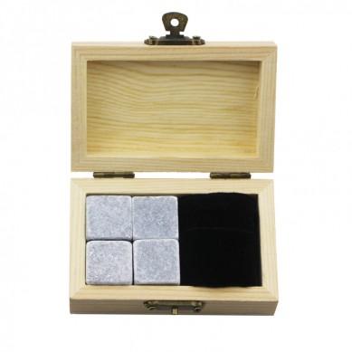 Handcraft Ice Cube soapstone Chilling Rocks Whiskey Stones Gift Set Bar Accessories Whisky Stone