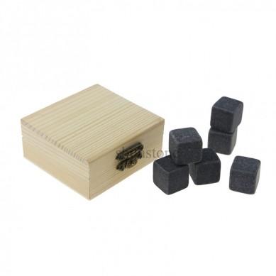 Wholesale 9 pcs of Whiskey Stones Reusable Ice Cube Cheap Whiskey Gift kit
