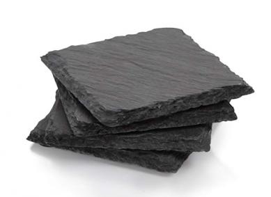 PriceList for Hot Stone - SHUNSTONE Amazon hot selling 4-Inch by 4-Inch Slate Coaster, Set of 4 – Shunstone