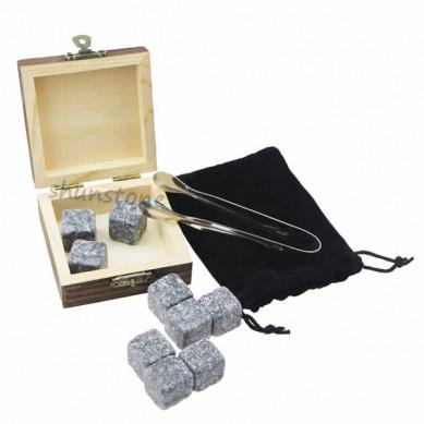 2017 Latest DesignWine Decanter - 9 pcs of Premium Corporate Gift Set Whiskey Stone Rock Whiskey Glass Whiskey Stone and Custom Promotional Gift Set Wholesale Price Best  – Shunstone