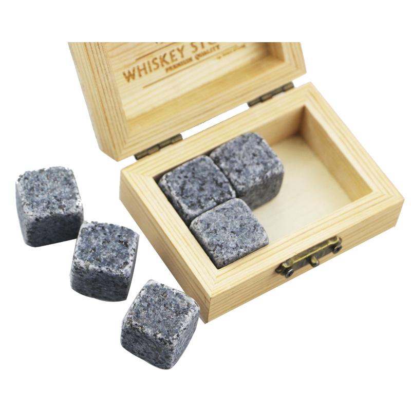 Personlized ProductsDecanters - 2019 Amazon Best Product Bar Tools Gift Item New 6 pcs of G654 Whiskey Rock Stone Cube Whisky Chilling Ice Cube Ice Stone Creative Gift Set – Shunstone