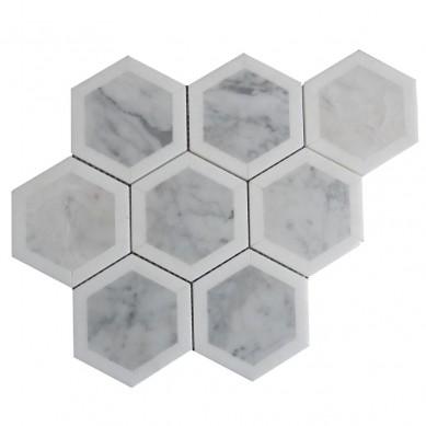 non-slip-waterjet-mosaic-carrara-white-marble