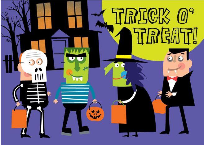 Trick or treat (Interesting Halloween customs)
